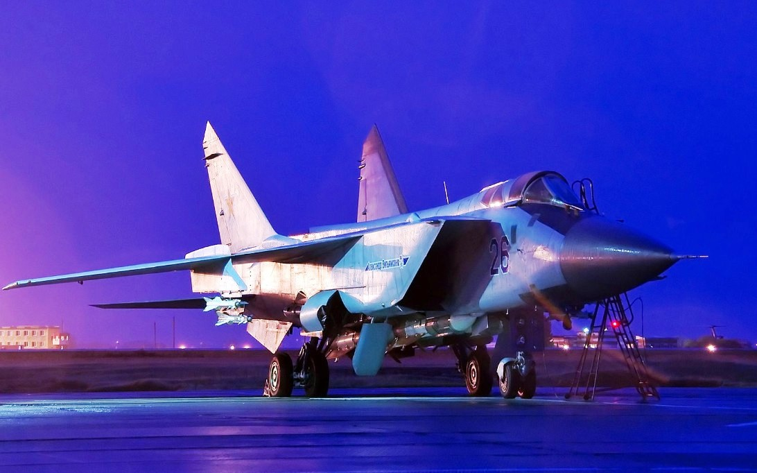MiG-31 Foxhound jet fighter wallpaper 2