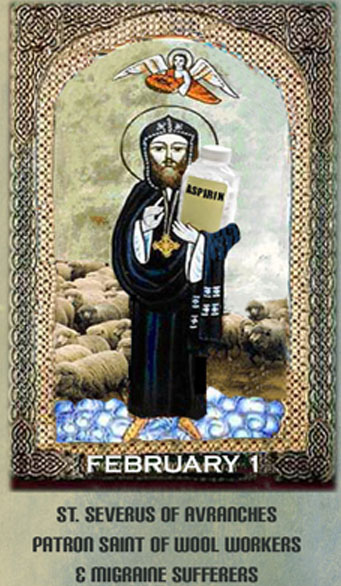 February 1 is St. Severus's Day