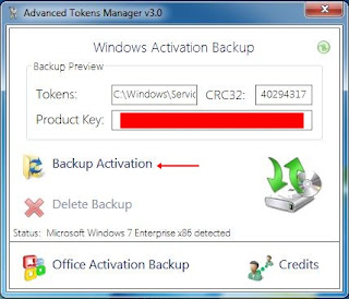 backup activation