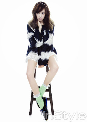 Victoria Song f(x) - InStyle Magazine October Issue 2013