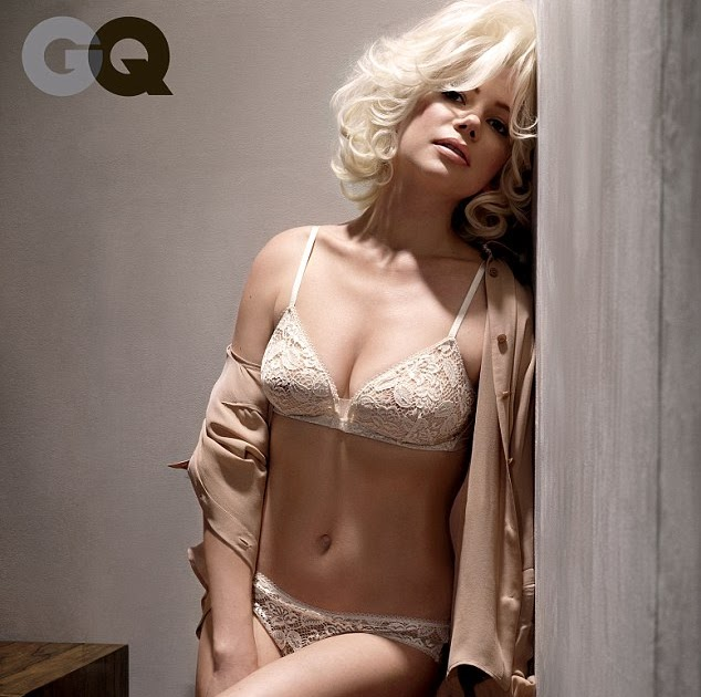 Michelle Williams Gives A Rare Glimpse Of Her Stunning Figure As She Slips Into Sexy Lingerie For Marilyn Monroe Shoot Celebs News