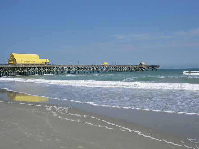 Thomas beach vacations top fishing piers in north myrtle for North myrtle beach fishing pier