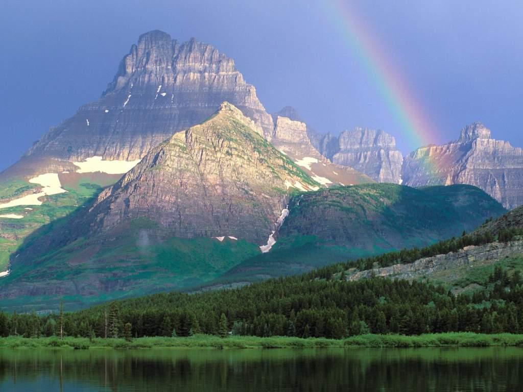 Glacier National Park Montana Eua Lugares Fant 225 Sticos