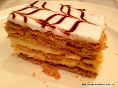 Mille-Feuille at Madeleine Cafe