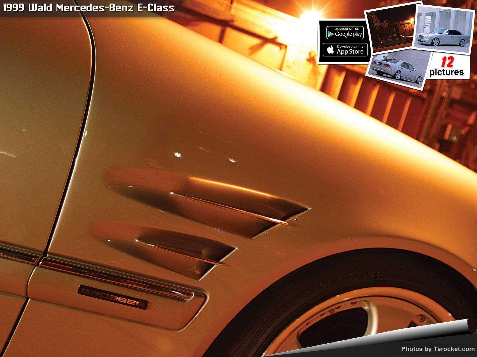 Hình ảnh xe độ Wald Mercedes-Benz E-Class 1999 & nội ngoại thất