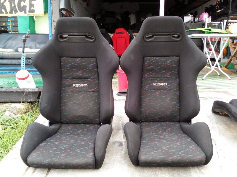dingz garage seat recaro sr3 le mans eg6. Black Bedroom Furniture Sets. Home Design Ideas