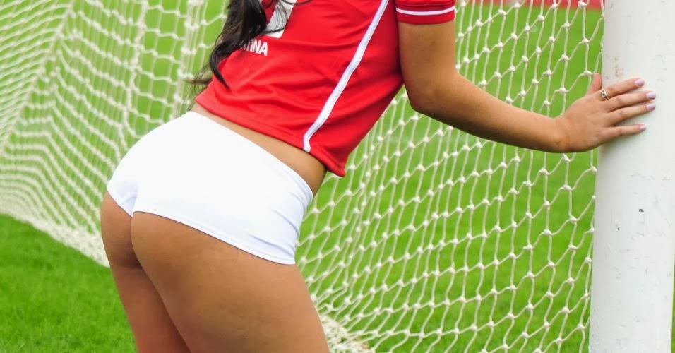 Sport Club Internacional - Daiana Souza no Belas da Torcida 2011
