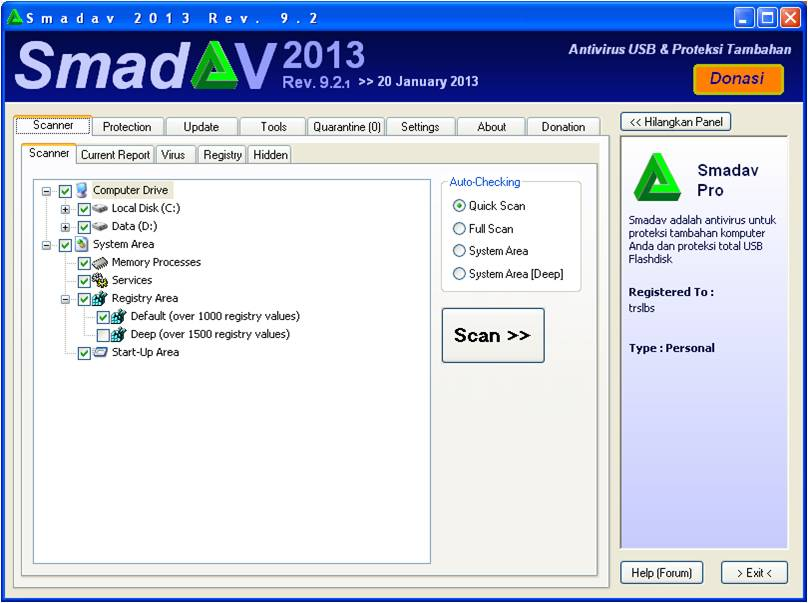 Download Antivirus Smadav 2013 Revisi 9.2
