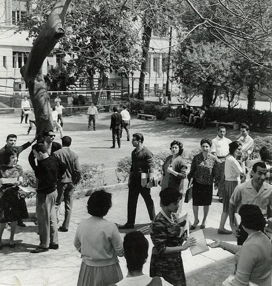 الجامعة المصرية في الستينات