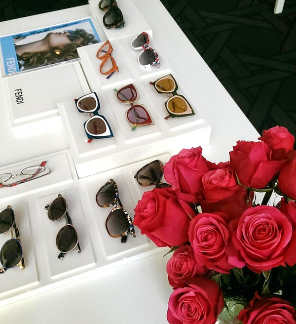 FENDI Range, Safilo SS 2015 Sunglasses & Eyewear Media Showcase