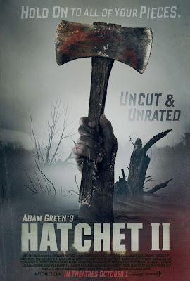 Watch Hatchet II 2010 BRRip Hollywood Movie Online | Hatchet II 2010 Hollywood Movie Poster