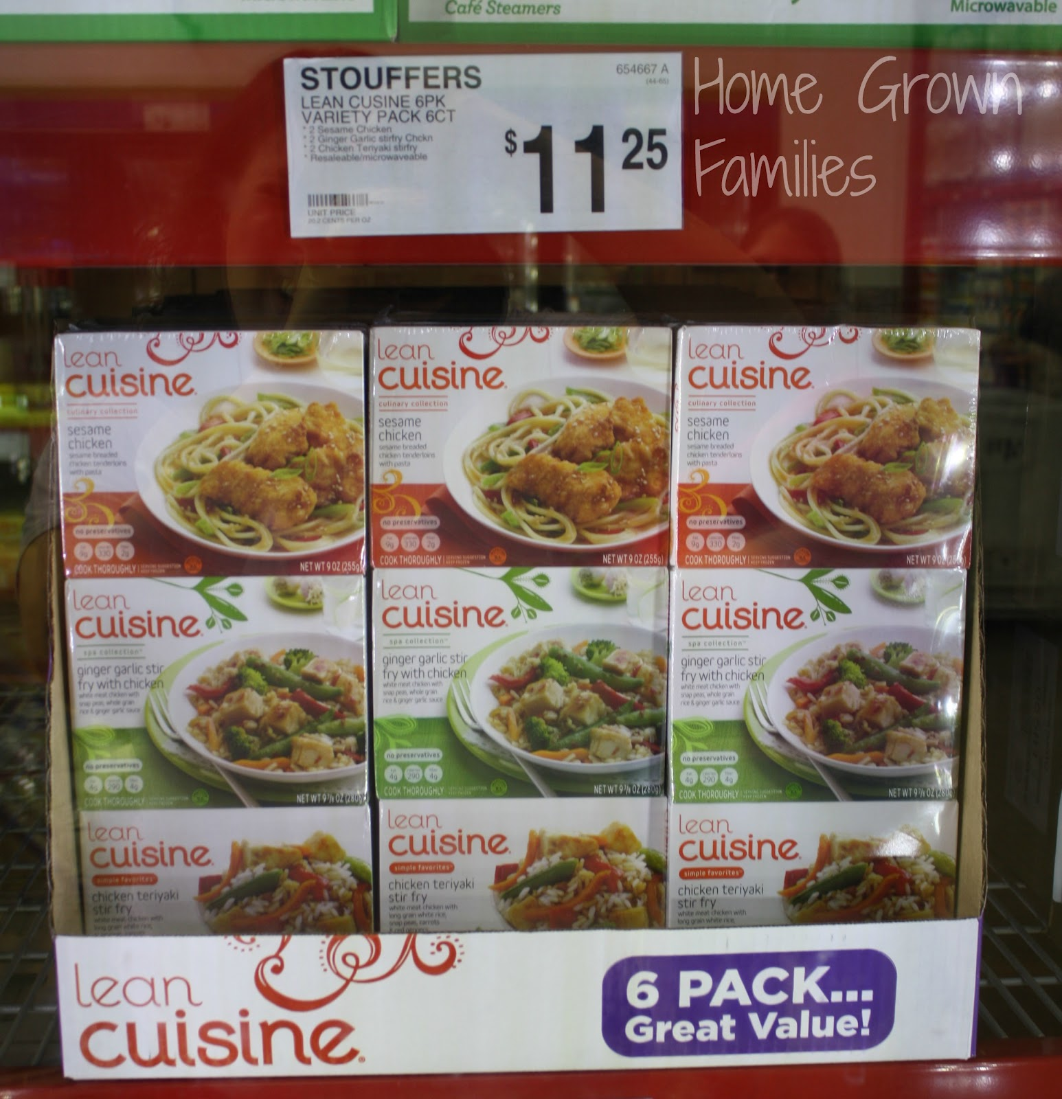 lean cuisine frozenfavorites asian flavor 6 pack cbias home grown families. Black Bedroom Furniture Sets. Home Design Ideas