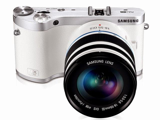 Fotografia della Samsung NX300