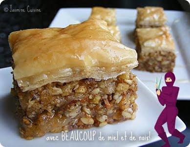 Baklava et p te phyllo maison daring bakers jasmine for Un pate de maison