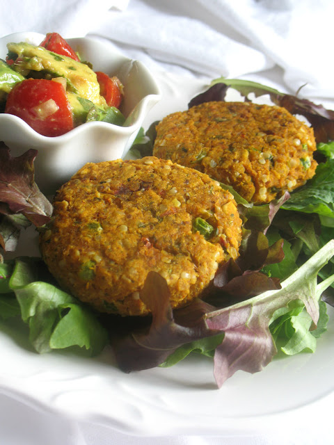 Sweet Potato, Chickpea, Oat patties