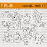 LiaStampz -Halloween digi stamps set