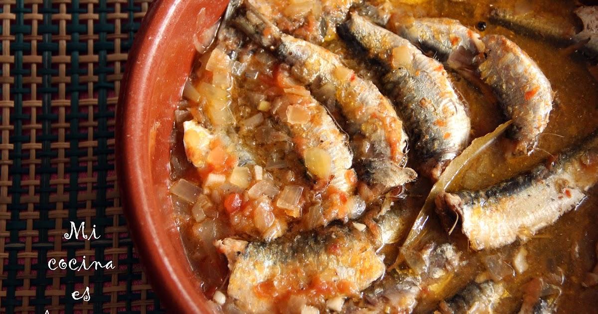 Mi cocina es chicunini sardinas en escabeche - Como cocinar sardinas ...