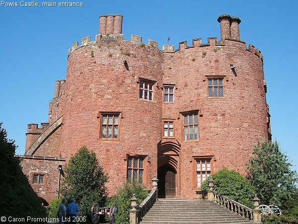 Top World Travel Destinations Powis Castle Wales