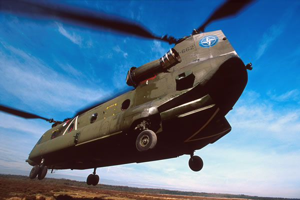 CH-47F Chinook Heavy-Lift Helicopter