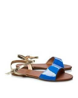 George Colour Block Sandals