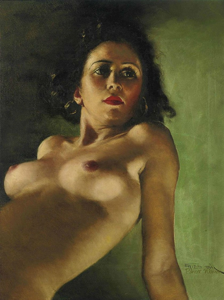 Pál Fried 1893-1976 P%C3%A1l+Fried+1893-1976+-+Hungarian-born+American+painter+%285%29