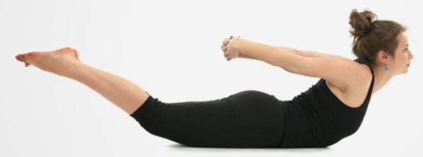 Yoga Salabhasana