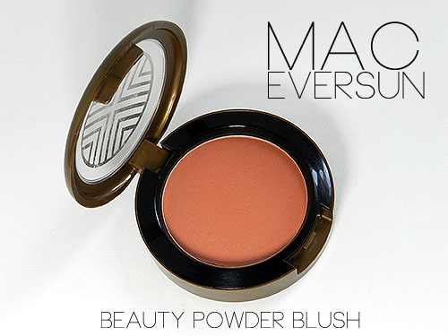 mac eversun blush review