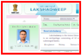 Lakshadweep Official Web