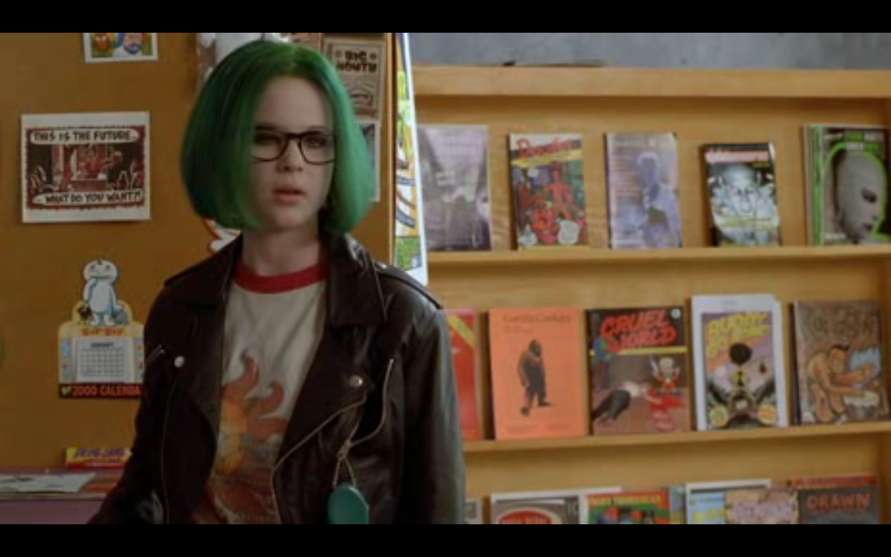 Thora Birch Ghost World Tumblr Namely thora burch s enidThora Birch Ghost World Green Hair