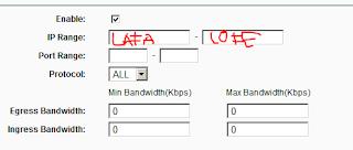 setting bandwith,bandwith control,tplink admin,tplink router