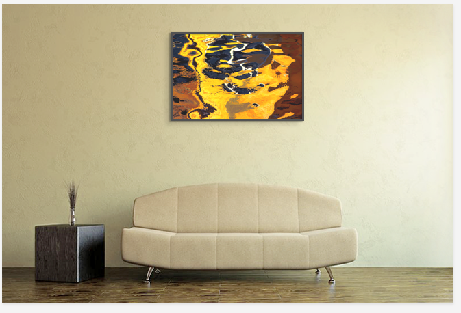 Decoration with Fine art print photo