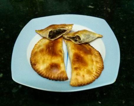 Empanadillas de morcilla y manzana