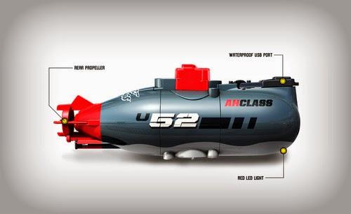 Air Hogs Dive Master Remote Controlled Mini Submarine, mini sub, mini remote control submarine