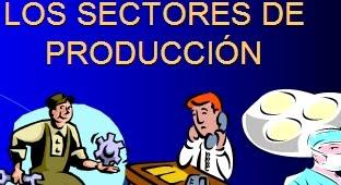 los sectores de producción