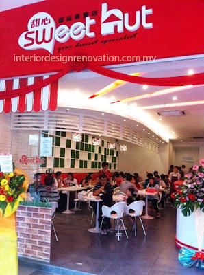 cafe restaurant renovation and interior design carpentry work setia walk puchong selangor