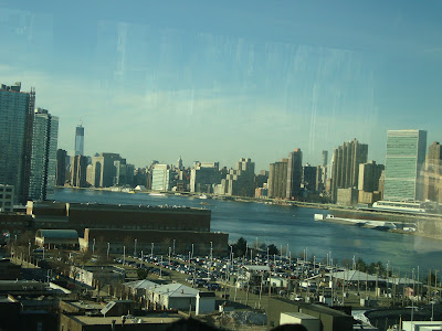 Manhattan a partir da Queensboro Bridge - New York