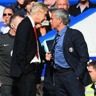 Wenger Arsenal vs Mourinho Chelsea