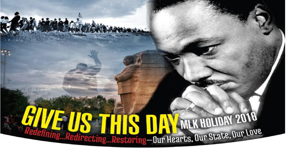 Give Us This Day- MLK Prayer Salute