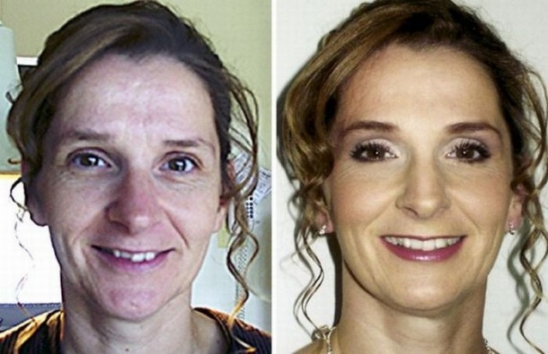 Pretty Girls With and Without Makeup : Ladies Mails