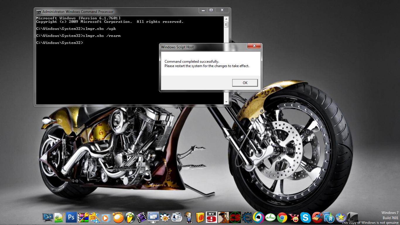 Cara Mengatasi Windows 7 Build 7601 Not Genuine
