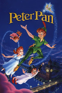 Capa do filme animado da Disney Peter Pan