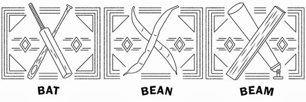 Bat, Bean, Beam