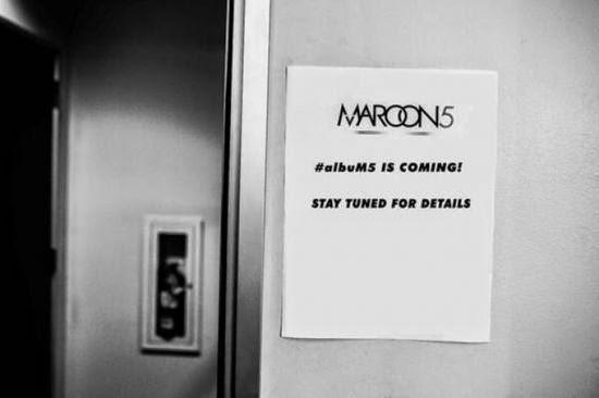 Banda Maroon 5 está trabalhando em novo álbum, afirma Adam Levine!