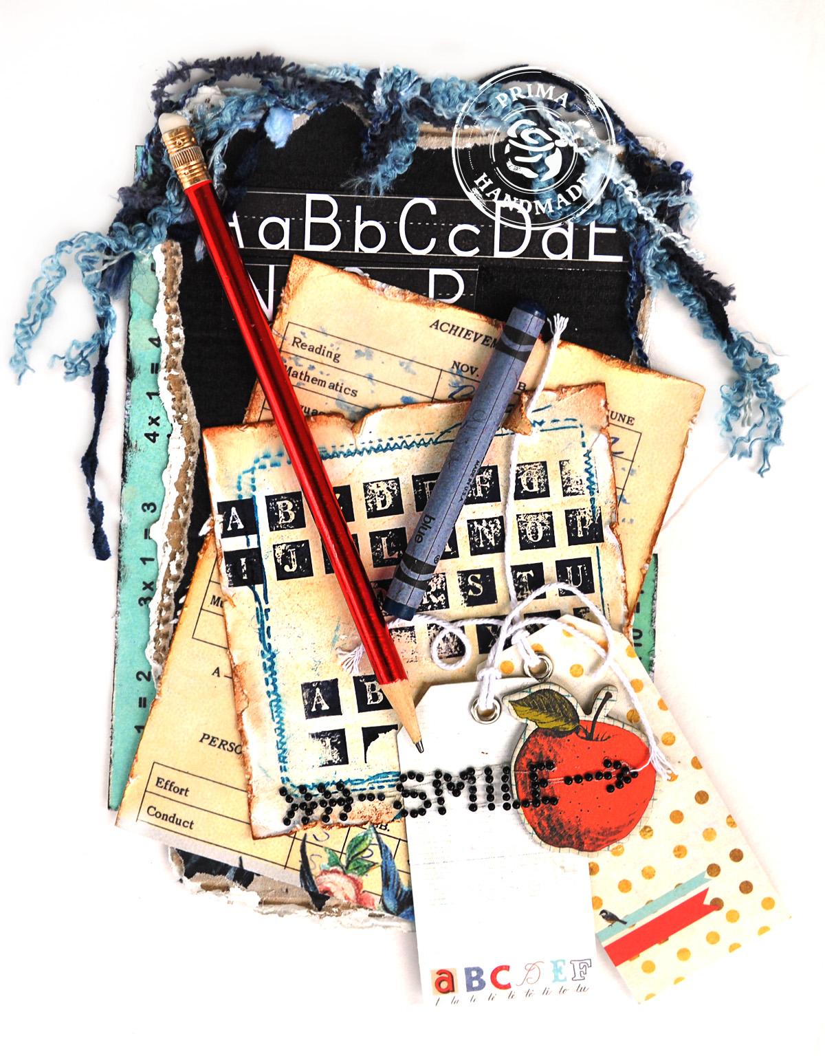 scrap escape  prima school memories collection