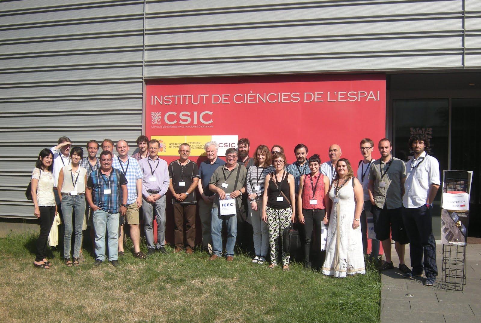 Participants al workshop de l'Asteroid Day a l'UAB