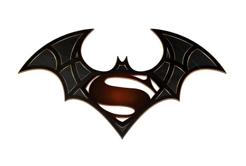 james poai digital art batman vs superman logo 2015