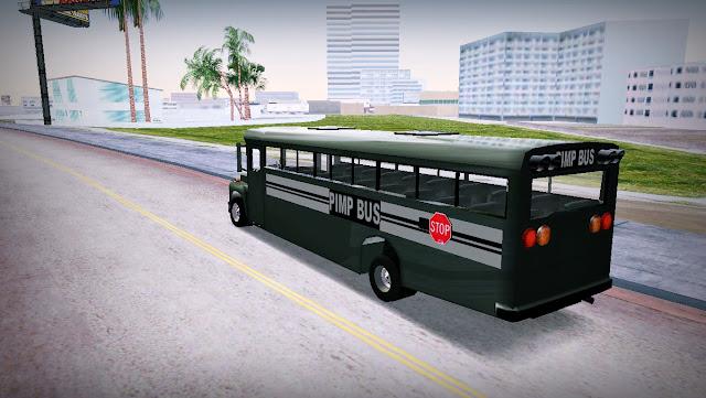 School Pimp Bus GTA Vice City