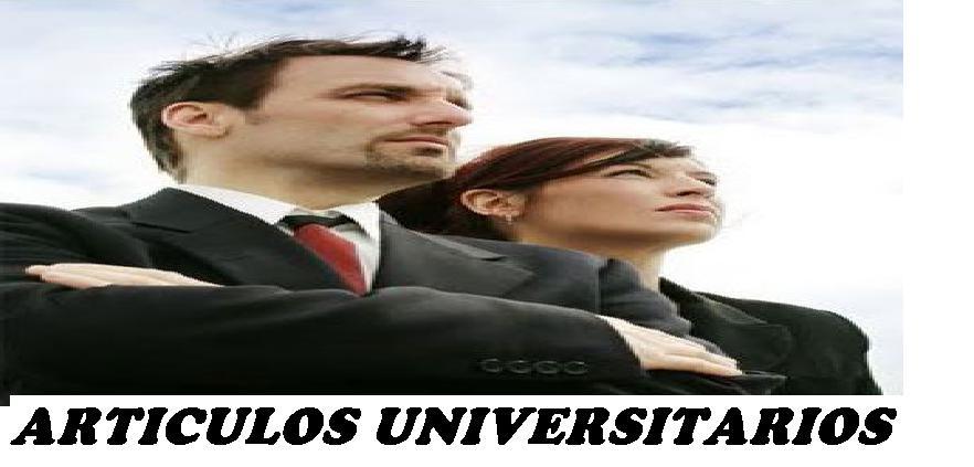 ARTICULOS  Y TEMAS UNIVERSITARIOS