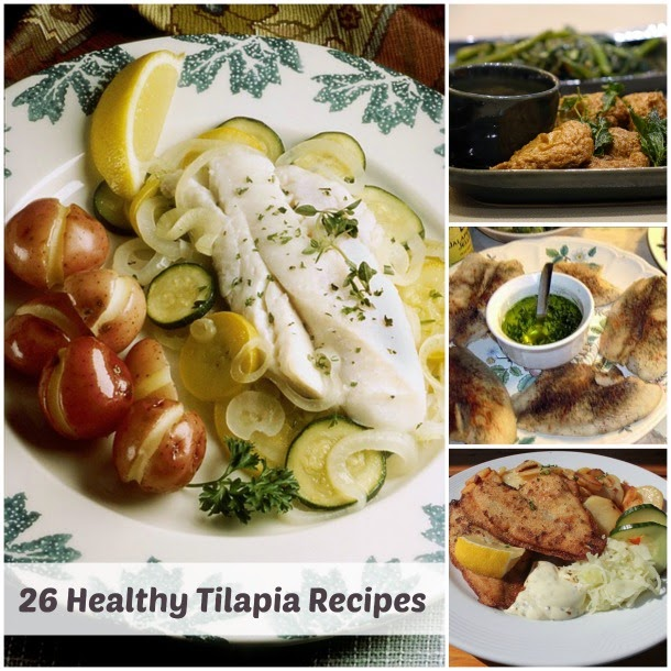 Healthy Tilapia Recipes #healthytilapiarecipes