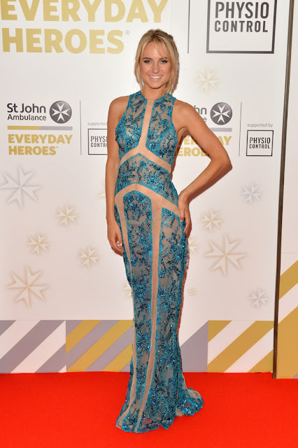 Television Personality, Actress @ Kimberley Garner - St John Ambulance's Everyday Heroes Awards in London
